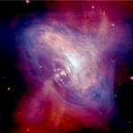 The Crab Nebula viewed in x-rays, showing the Crab Pulsar. Credit: ESA.